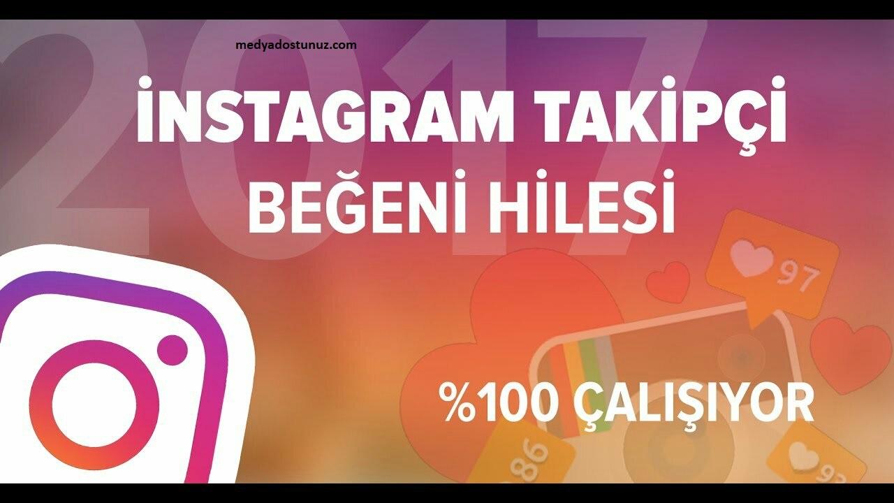 instagram beğeni hilesi 2021